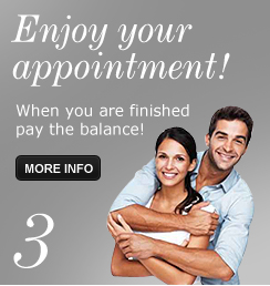 Step 3 - Enjoy your appointment!